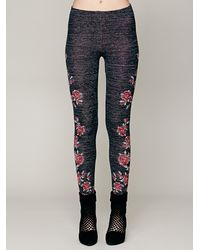 Free People Gray Winter Story Sweater Legging