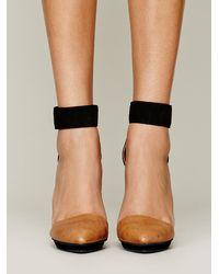 Jeffrey Campbell Black Solitaire Heel