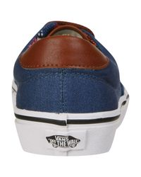 Vans Blue Era 59 Canvas and Leather Trainers for men