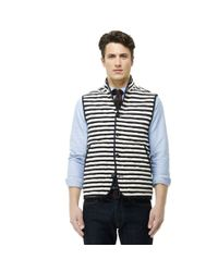 Club Monaco Blue Reversible Vest for men