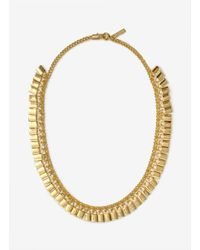Eddie Borgo | Metallic Padlock Necklace | Lyst