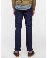 Engineered Garments Blue Navy Canvas Fatigue Pant for men
