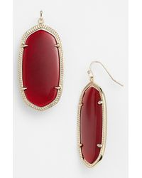 Kendra Scott | Purple Skylar Spear Statement Earrings | Lyst