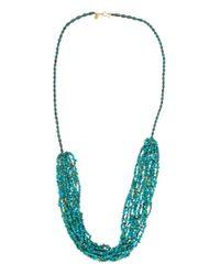 Michael Stars | Blue 10 Strand Necklace | Lyst