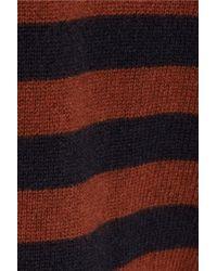 Chinti & Parker Blue Striped Cashmere Sweater Dress