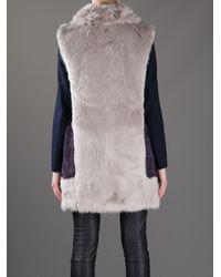 Dondup Purple Wendy Coat