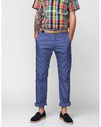 Engineered Garments Blue Usn Pant for men