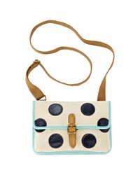 Fossil Multicolor Keyper East West Mini Cross Body
