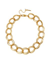 Kenneth Cole - Metallic Gold-tone Large Link Necklace - Lyst