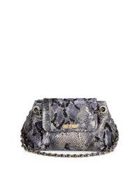 Marc Jacobs Multicolor Mae Python Shoulder Bag