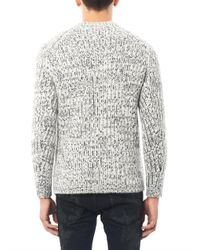 Marc Jacobs White Chunkyknit Wool Sweater for men