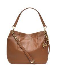 Michael Kors Brown Bedford Large Shoulder Bag
