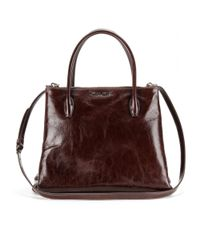 Miu Miu | Brown Pony Hair Animalprint Shoulder Bag | Lyst