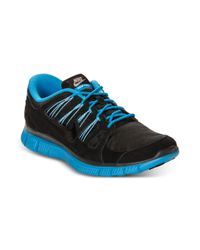 Nike | Black Free 50 Ext Running Sneakers for Men | Lyst