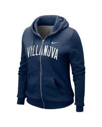 Nike Blue Villanova Wildcats Classic Hoodie