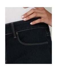 Not Your Daughter's Jeans Nydj Petite Barbara Modern Bootcut Jeans Blue Black Wash