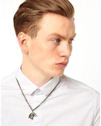 ASOS - Metallic Simon Carter Eagle Necklace for Men - Lyst