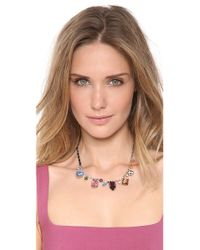 Tom Binns - Multicolor Multi Size Crystal Necklace - Lyst
