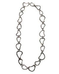 Arunashi - Black Abalone Shell Necklace - Lyst