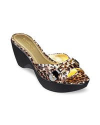 Guess Multicolor Rayvin Platform Wedges
