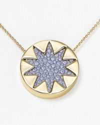 House of Harlow 1960 | Metallic Mini Sunburst Pendant Necklace 16 | Lyst