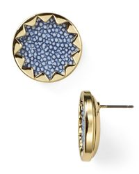 House of Harlow 1960 | Metallic Sunburst Button Stud Earrings | Lyst