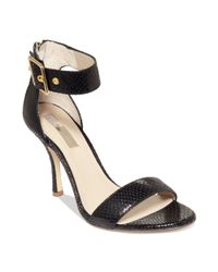 INC International Concepts | Black Damia Sandals | Lyst