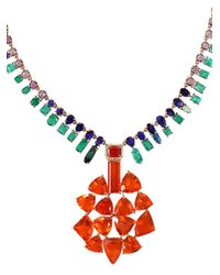 Irene Neuwirth - Multicolor Fire Opal Necklace - Lyst