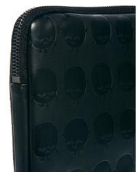 Monki - Black Embossed Ipad Case - Lyst