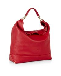 Mulberry Red Effie Hobo Bag