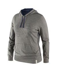 Nike Gray North Carolina Tar Heels Jersey Hoodie