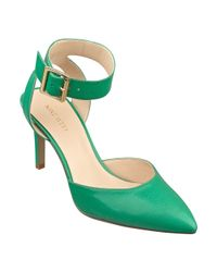 Nine West Green Callen Pointy Toe Pump