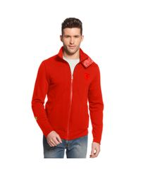 PUMA Red Ferrari Mix Sweat Jacket for men