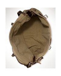 Ralph Lauren Natural Canvas New Messenger Bag for men