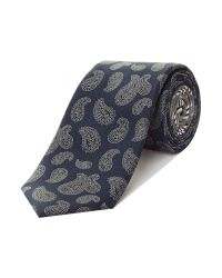 Tommy Hilfiger | Blue Paisley Tie for Men | Lyst
