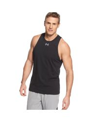 Under Armour | Gray Charged Cotton Tank Top for Men | Lyst