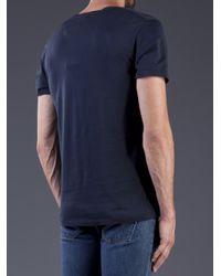 Acne Studios Blue Limit Tshirt for men