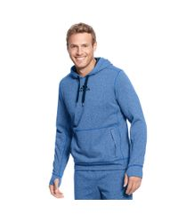 Adidas Blue Climawarm Ultimate Tech Fleece Hoodie for men