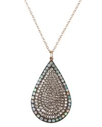 Andrea Fohrman | Metallic Stella Pendant Necklace | Lyst