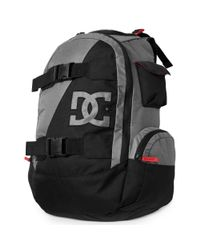DC Shoes Black Wolfbred Backpack for men