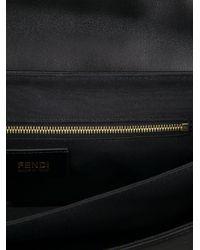 Fendi Black Chain Link Shoulder Bag