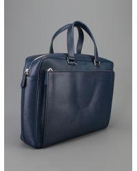 Fendi Blue Classic Briefcase for men