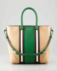 Givenchy Lucrezia Medium Shopper Tote Green Multi