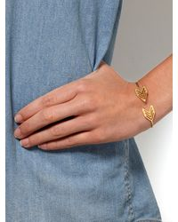 Gorjana Metallic Chevron Tribal Cuff