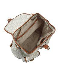 MICHAEL Michael Kors Natural Jet Set Backpack
