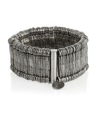 Philippe Audibert - Metallic Mille Silver-Plated Cuff - Lyst