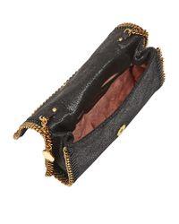 Stella McCartney Black Falabella Shaggy Deer Crossbody Bag
