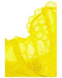yellow lemon mesh and eyelash lace bra videos