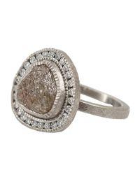 Todd Reed - Metallic Raw Diamond Ring - Lyst