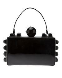 Tonya Hawkes Black Box Clutch